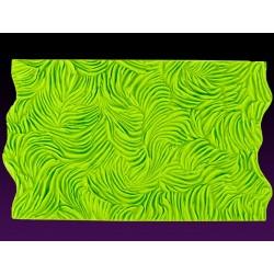 Texture fourrure longue - impression mat - 15.25 x 10.15 cm - Marvelous Molds