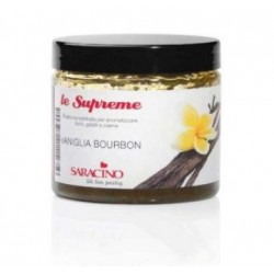 Concentrated flavored paste - Vainilla Bourbon - 200g - Saracino
