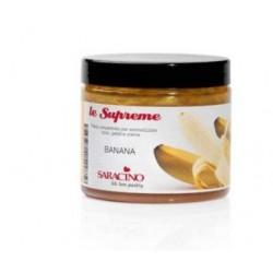 Pâte concentrée aromatisée - Banane - 200g - Saracino