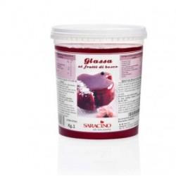 Forest fruits mirror glaze - 1kg - Saracino