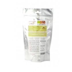 Palets de chocolat de couverture Blanc - 190g - ScrapCooking