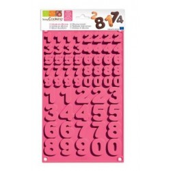 Chocolate Silicone Mold Numbers - ScrapCooking