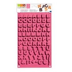Moule silicone chocolat alphabet - ScrapCooking