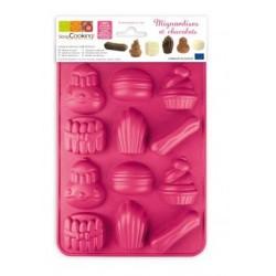 Moule silicone chocolat mignardises - ScrapCooking