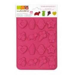 Moule silicone chocolat petits bonbons - ScrapCooking