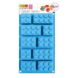 Moule à gâteaux silicone briques - ScrapCooking