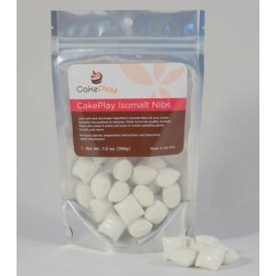 isomalt nibs ready tempered - white - Cakeplay - 198g