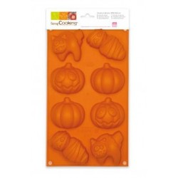 Silicone cake mold Halloween ScrapCooking