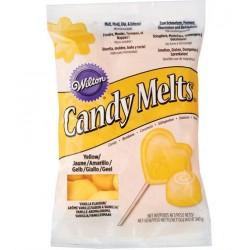 Candy Melts yellow/jaune 340g - Wilton