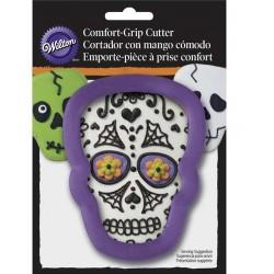 Emporte-pièce métal Comfort Grip - skull/crâne - Wilton