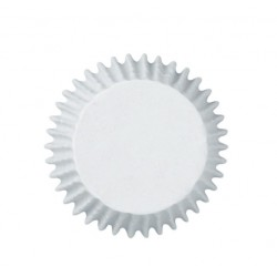 mini baking cups white - 100pcs - 3.2cm Ø - Wilton