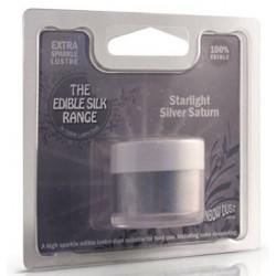 Edible Silk - starlight silver saturn / argent - 5g