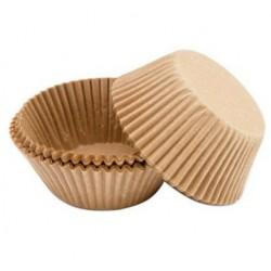 cupcakecups paper - beige - 75pcs - 5cm Ø - Wilton