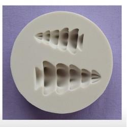 Moule en silicone - Arbres 3D petits et moyens - Alphabet Moulds