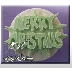 Moule en silicone - Merry Christmas - Alphabet Moulds