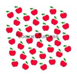 stencil Pommes set 2 pièces - Cookie Countess