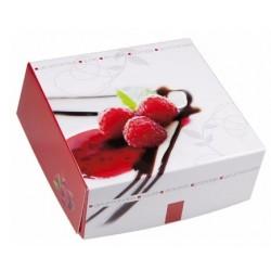 Emotion square dessert box 18 x 18 x 8 cm