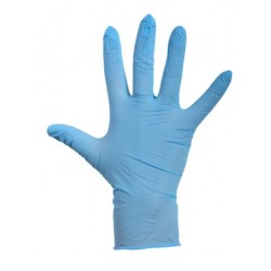 protective latex gloves - size L
