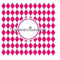 Harlequin Monogram - Cookie Countess
