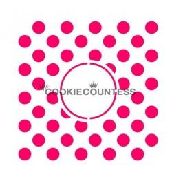 Polka dots Monogram / Monogramme à pois