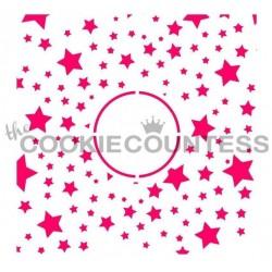 Stars Monogram / Monogramme d'étoiles