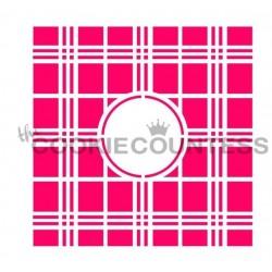 Plaid Monogram / Monogramme tissu écossais