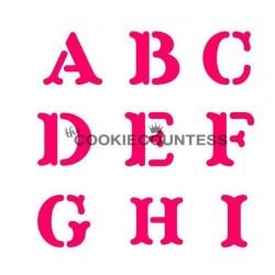 Set Alphabet Block