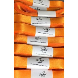"Satin ribbon Decora ""arancio / orange"" 0.59in x 196,85in"