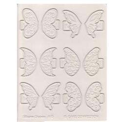 6 - moule papillons fantaisistes - CakePlay