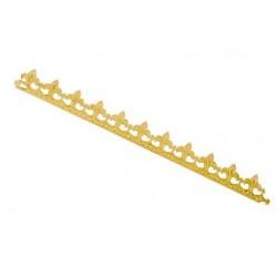 Couronne de roi or avec attache carton