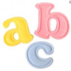 Alphabet moyen, 26 pièces - Cutters Easy Push de Cake Star