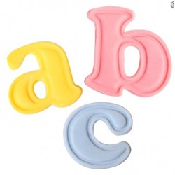 Lowercase Alphabet Set 26 Piece - Cake Star Push Easy Cutters