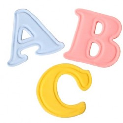 Uppercase Alphabet Set 26 Piece - Cake Star Push Easy Cutters