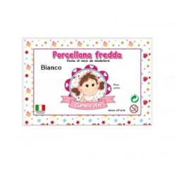Porcelaine froide - bianco / blanc - 500g