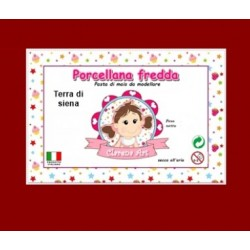 Porcelaine froide - terra di siena / terre - 250g