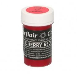 colorant alimentaire concentré cherry red / cerise rouge - 25g - Sugarflair