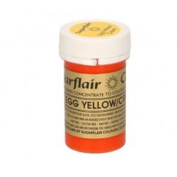 colorant alimentaire concentré egg yellow /jaune d'oeuf - 25g - Sugarflair
