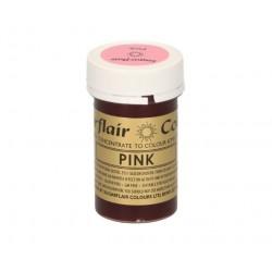 colorant alimentaire concentré pink / rose - 25g - Sugarflair