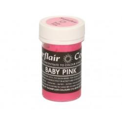 colorant alimentaire concentré baby pink / rose bébé - 25g - Sugarflair