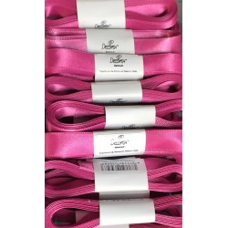 Ruban satin de Decora «fucsia / fuchsia  » 15 mm x 5 m