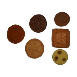 mini cookies silicone mold - 2.5 cm to 3.5 cm