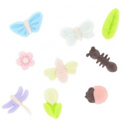 moule silicone insectes