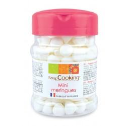 Pot of mini white meringues of ScrapCooking