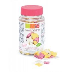 Pot of sweet decorations butterflies of ScrapCooking - 50g