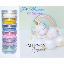 "Magic powder kit ""unicorn"" - 6 pieces - 3g each - Emerson"