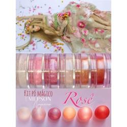 "Kit poudre ""rose"" - 6 pièces - 3g chacun - Emerson"