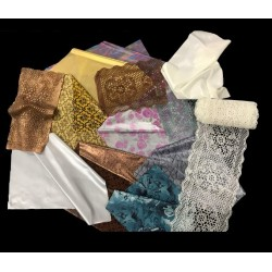 Set 20 FlexFrost White Edible Fabric Sheets A4