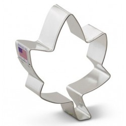 "Cookie cutter ivy leaf - 4"" - Ann Clark"