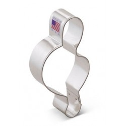 "Cookie cutter G clef - 4"" - Ann Clark"