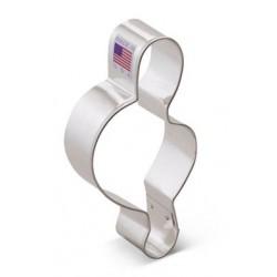 Emporte-pièce  G clef / clé G - 10 cm - Ann Clark